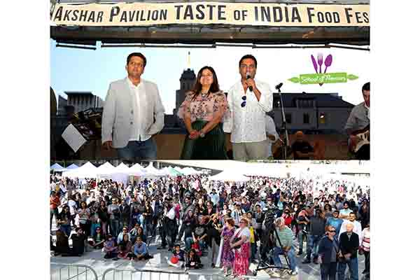 Akshar Pavilion TASTE OF INDIA food festival