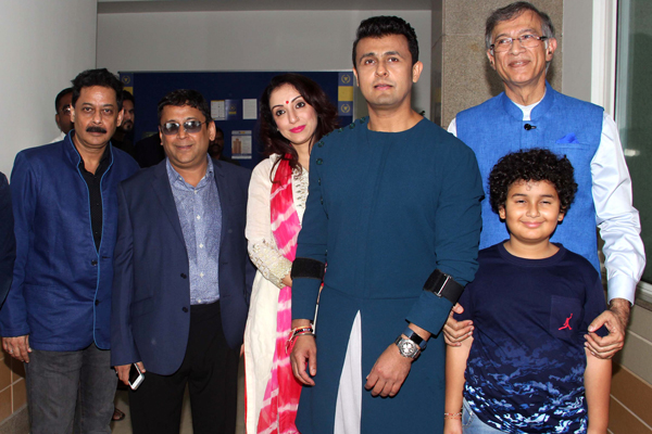 Celebs seen at party organised by music director Anand Milind at Hiranandani Gardens, Powai