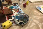 Art Journal Workshop at Art & Now, Model Colony