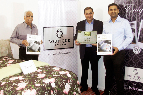 Boutique Living, a premium bed linen brand from IndoCount launched it's Autumn/Winter 2017 collection at Pune