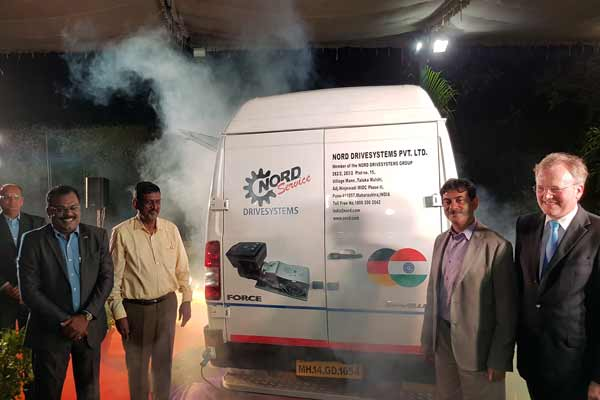 NORD Drive Systems; Extra Mile Service launch in Hyderabad