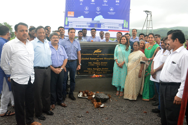 JSW FOUNDATION ANNOUNCES STATE-OF-THE-ART MULTISPECIALTY 123-BED JINDAL SANJEEVANI HOSPITAL AT DOLVI, MAHARASTRA