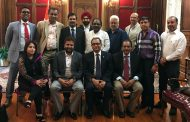 Overseas Congress meets new Indian Consul General - Mr. Ashok Chakravarthy