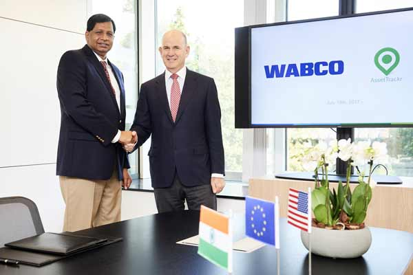 WABCO Signs Agreement to Acquire AssetTrackr in India; Strategically Expands Its Global Fleet Management Solutions Business