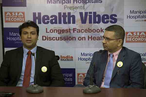 Manipal Hospitals Enters Into Asia Book Of Records