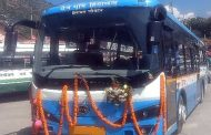 Goldstone's Electric Bus Becomes country's first to be commercially launched for Public transport; flagged off by Himachal Roadways