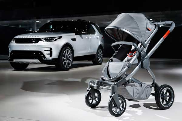 Land Rover and iCandy World launch All-Terrain pushchair for adventurous parents