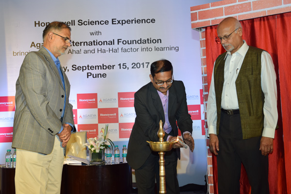 HONEYWELL INDIA AND AGASTYA INTERNATIONAL FOUNDATION TO TRANSFORM SCIENCE EDUCATION IN PUNE