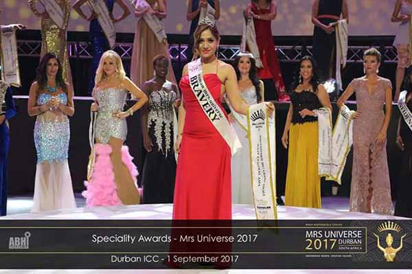 India secures 6th position at Mrs. Universe World Event 2017