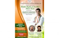 First Public Event for Shri Rahul Gandhi in USA on September 20th at Marriott Marquee (Times Square) from 6 pm onwards