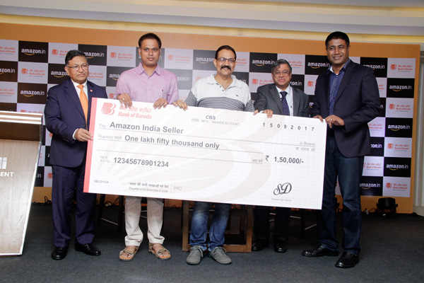 Bank of Baroda partners with Amazon.in to provide lending support to SMEs