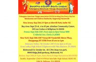Telangana American Telugu Association (T.A.T.A) Bathukama and Dasara nationwide Celebrations