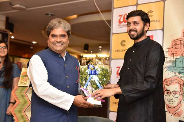 Vishal Bhardwaj unveils Bestselling Hindi author Nikhil Sachan's third book UP 65