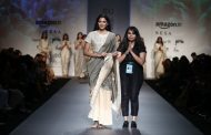 Designer Pratimaa Pandey showcased 'Leela' at Amazon India Fashion Week (SS'18)
