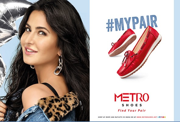 Makani Creatives conceives 2 new Ad films for Metro Shoes featuring Katrina Kaif and Sidharth Malhotra