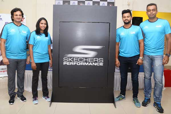 Suresh Raina and Kavita Tungar announce the 8th Edition of Skechers Performance Goa River Marathon