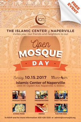 Islamic Center of Naperville to host Open Mosque Day for all Faiths on Sunday