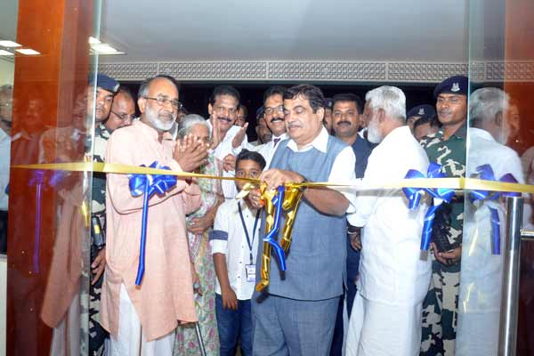 Nitin Gadkari inaugurates India's First Food Security Market