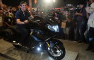 Showstopper of the fest: BMW Motorrad revs up the throttle at India Bike Week 2017.