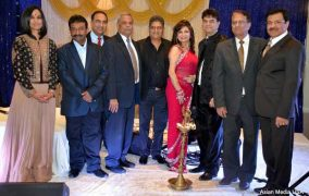 Chief Guest Mr. Sunil Shah, Mr. Anil Loomba and Dr. Anuja Gupta Honored at Bollywood Sargam festival of light