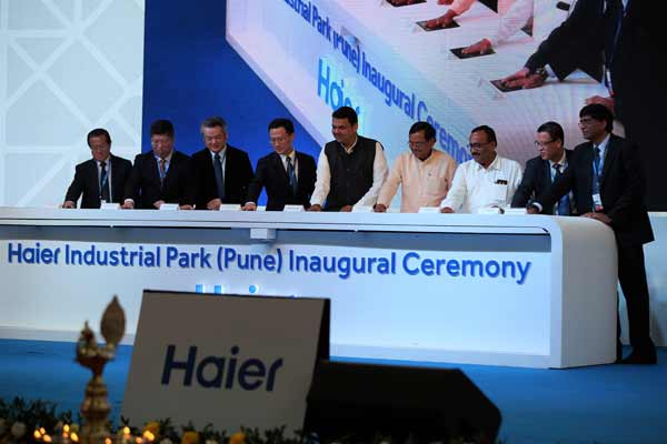 HAIER INDIA INAUGURATES FIRST INDUSTRIAL PARK, INVESTS INR 600 CRORE