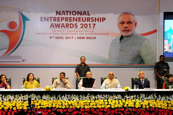 """Strength of India's economy will be Entrepreneurship""- Arun Jaitley"