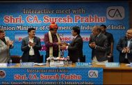 Suresh Prabhu interaction with Chartered Accountants Fraternity of ICAI