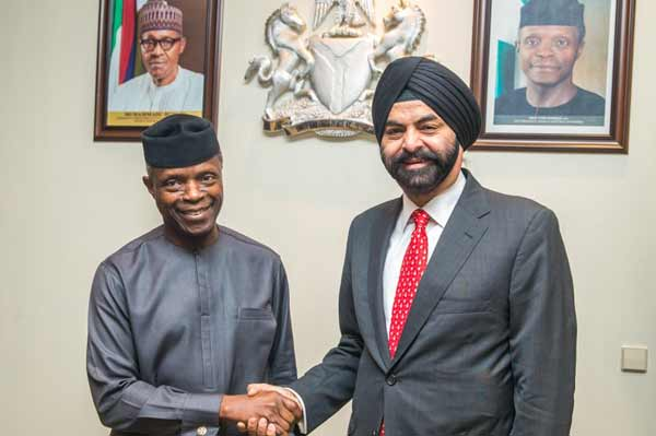 Nigeria's Vice President and Mastercard President and CEO Discuss Role of Technology in Country's Development