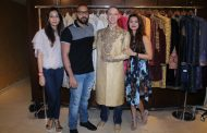 DESIGNER DUO PAWAN & PRANAV'S WEDDING OUTFIT FOR BRENT GOBLE WITH AASHKA GORADIA