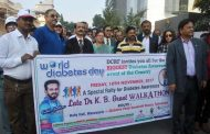 DCRF's Rally and diabetes day program receive an overwhelming response