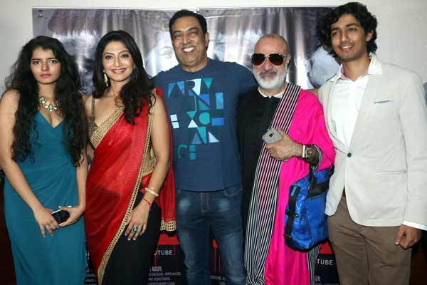 Actress Aartii Naagpal launched her new short film Abuse with close friends at The view preview, Andheri West