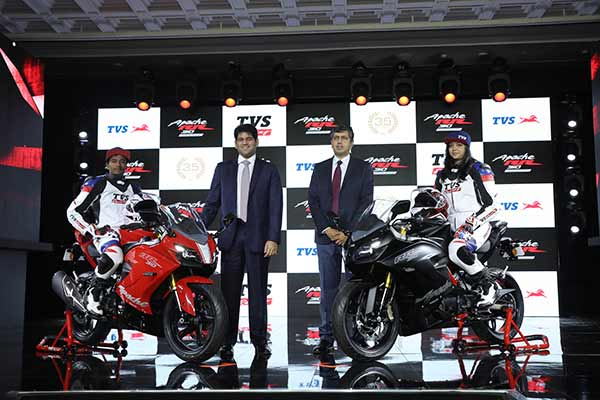 TVS Apache RR 310 signals TVS Motor Company's entry into the super-premium motorcycle segment