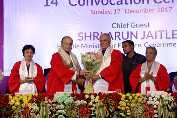 14th Convocation Ceremony at Symbiosis International (Deemed) University
