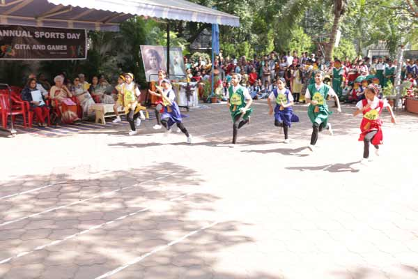 St. Mira's Secondary School celebrated Annual Sports Day on occasion of Gita Jayanti today, November 30, 2017