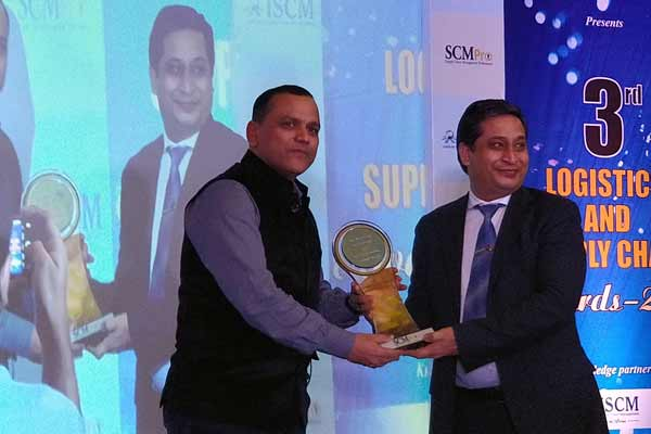 NBHC honoured as the 'Best Agri Warehouse of the Year' at the 2017 SCMPRo Awards