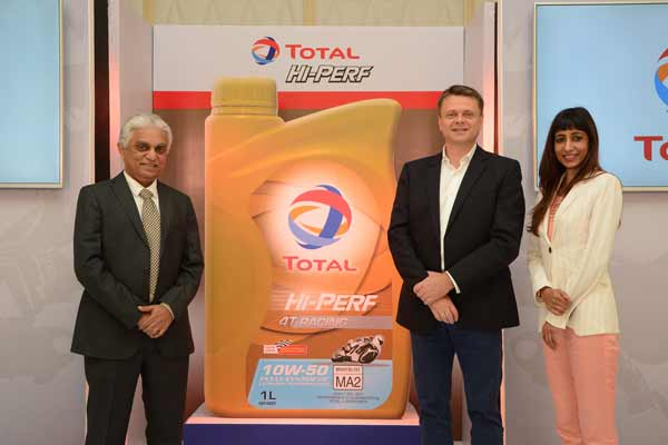 Total launches 'Hi-Perf' for the Motor Cycle Oil segment