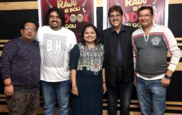 Shabab Sabri recorded the romantic song on mahurat of comedy film Raju ki boli bandook ki goli at AVM Studio