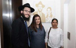 Moshe Holtzberg's first visit back to Nariman (Chabad) House