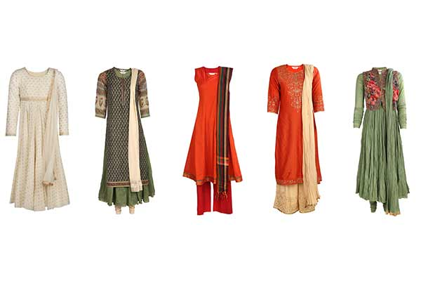 Add patriotic fervor to Republic Day celebrations with BIBA's Tricolour collection