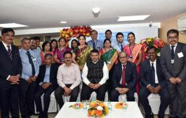 Maharashtra Chief Minister Devendra Fadnavis inaugurated the re-located Mantralaya branch of Bank of Maharashtra