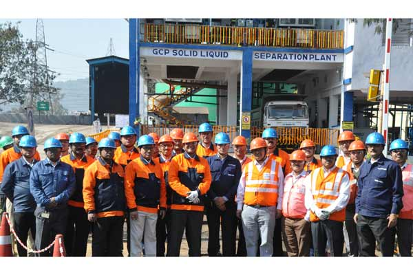 Tata Steel commissions India's first Solid Liquid Separation Plant for GCP slurry in the Ferro Alloys Industry, at FAP Joda