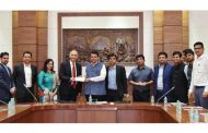 MVSTF signs MoU with Deutsche Bank in presence of CM for Rural Transformation