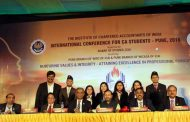 First International Conference for CA students held in Pune; Prakash Javadekar (HRD Union Minister) delivers the keynote speech