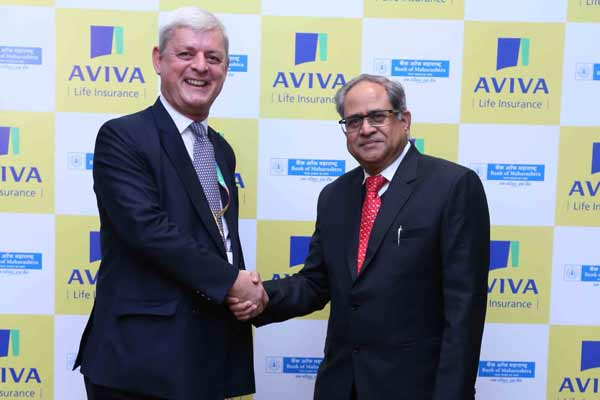 ​Aviva joins hands with Bank of Maharashtra for its Bancassurance business