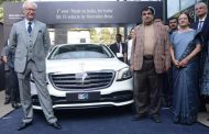 Mercedes-Benz introduces India's first 'BS VI compliant - Made in India, for India' vehicle; strongly reiterates its environment and India commitments