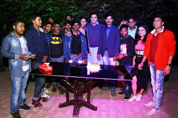 Triple celebration for actor Neeraj Bharadwaj on New Year's Eve