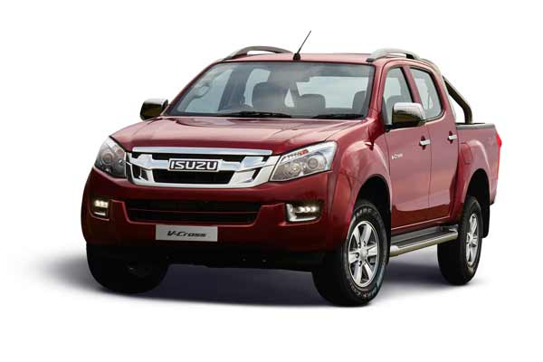 ISUZU D-MAX V-Cross 2018 edition launched in India