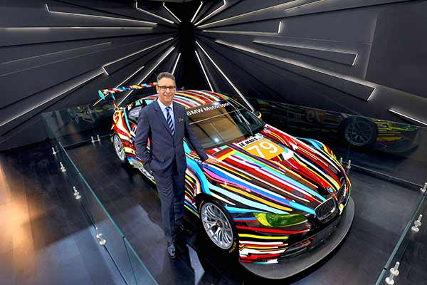 Masterpiece of Art and Automobile: BMW Group brings the 17th BMW Art Car to India.
