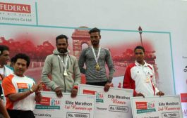 Defending champions Gopi T and Monica Athare win IDBI Federal Life Insurance New Delhi Marathon 2018