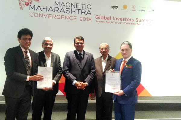 Raymond Group signs two MoU's with Government of Maharashtra for Rs.425 crore